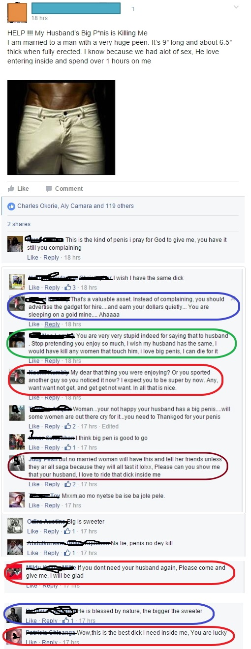 What do women consider a big dick